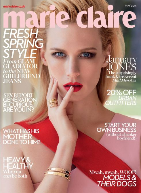 January Jones Marie Claire