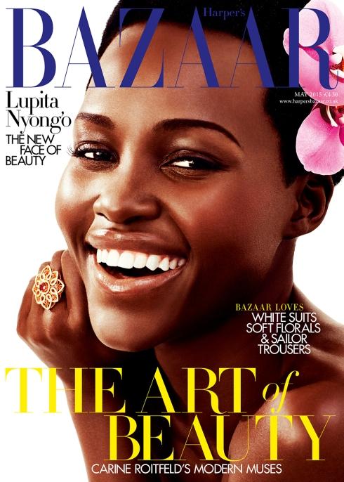 Lupita Nyong'o Harper's Bazaar