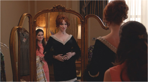 Mad Men 7.08 Joan shopping