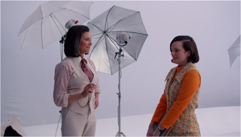 Mad Men 7.09 Peggy and Pima