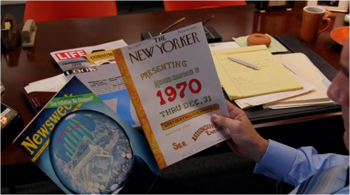 Mad Men 7.10 magazines