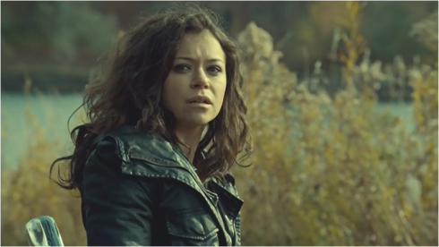 Orphan Black 3.01 Sarah leather jacket