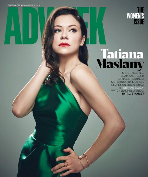 Tatiana Maslany Adweek