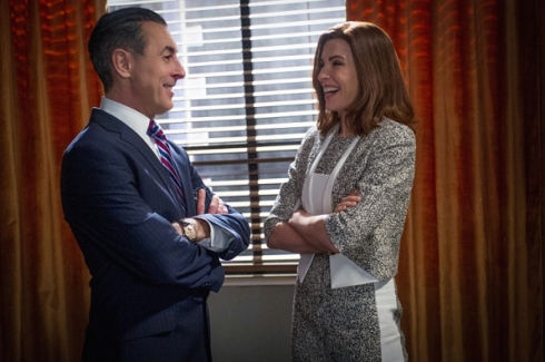 The Good Wife 6.19 Alicia and Eli
