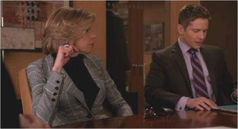 The Good Wife 6.20 Diane jacket
