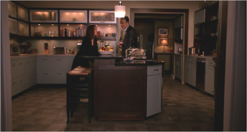 The Good Wife 6.20 kitchen