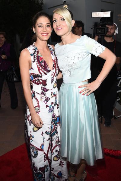 Lizzy Caplan and Annaleigh Ashford