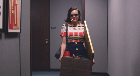 Mad Men 7.12 Queen Peggy