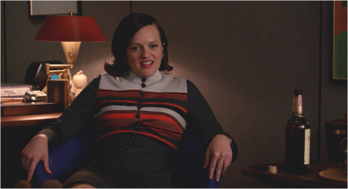 Mad Men 7.14 Peggy (stripes)