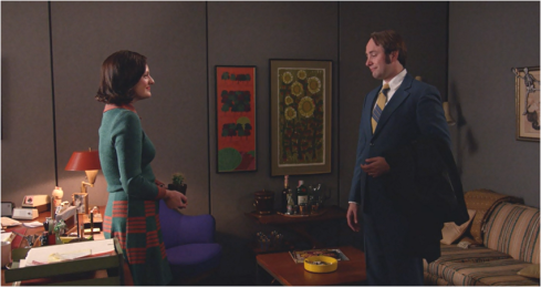 Mad Men 7.14 Pete and Peggy