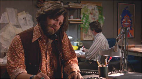 Mad Men 7.14 Stan phone