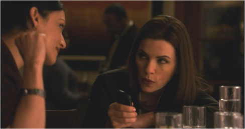 The Good Wife 6.21 Alicia and Kalinda