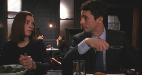 The Good Wife 6.21 Finn and Alicia