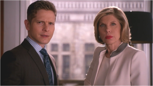 The Good Wife 6.22  Diane and Cary
