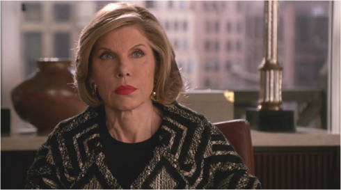 The Good Wife 6.22 Diane Lockhart