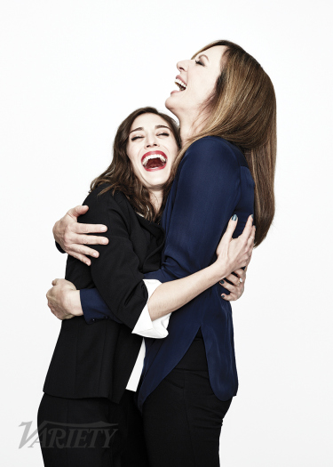 Allison Janney and Lizzy Caplan