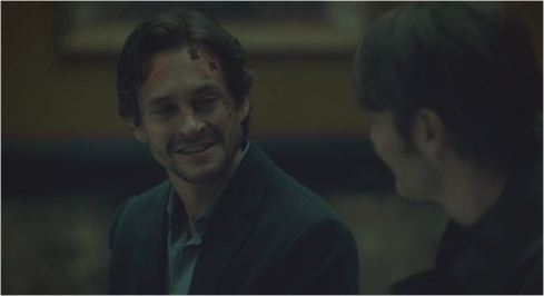 Hannibal 3.06 Will smiles