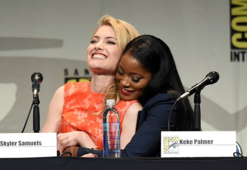 Keke Palmer and Skyler Samuels