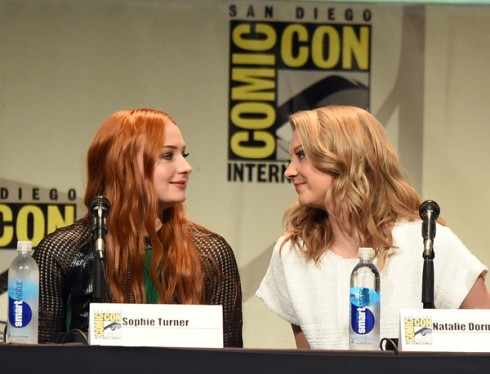 Sophie Turner and Natalie Dormer
