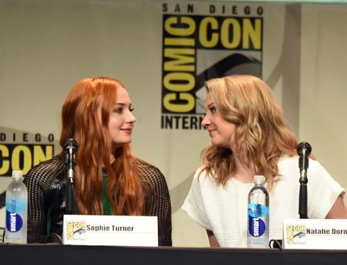 Sophie Turner and Natalie Dormer