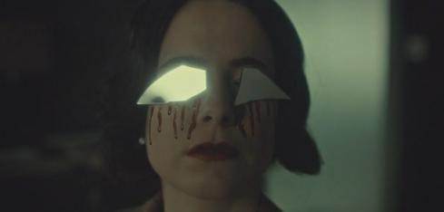 Hannibal 3.12 Alana mirror eyes