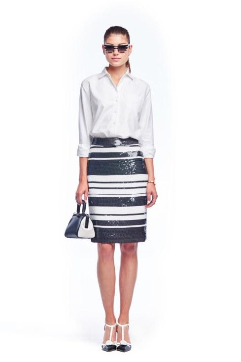 Kate Spade stripe skirt