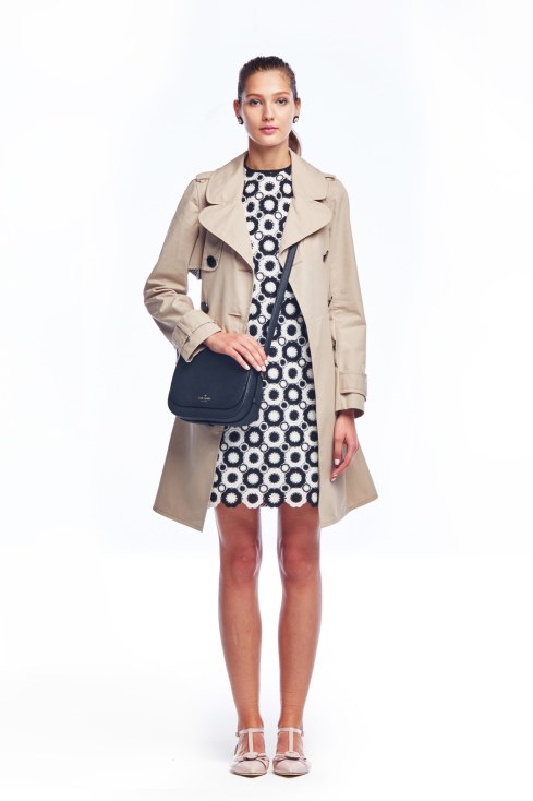 Kate Spade trench part two