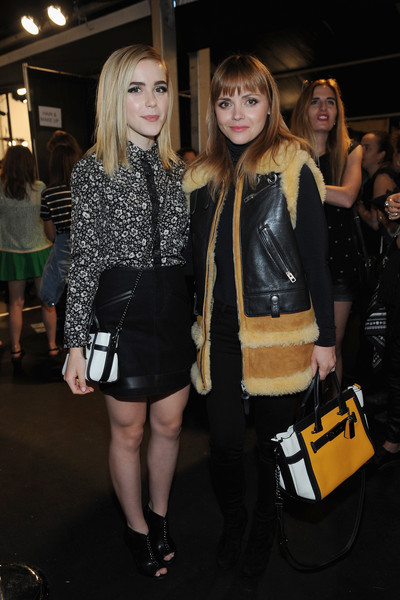 Kiernan Shipka and Christina Ricci