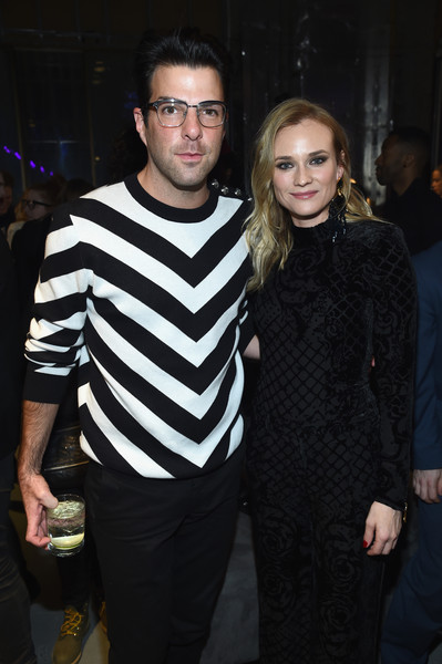 Diane Kruger and Zachary Quinto