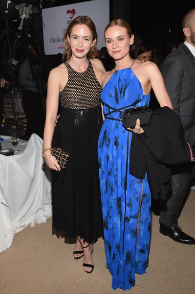 Emily Blunt and Diane Kruger