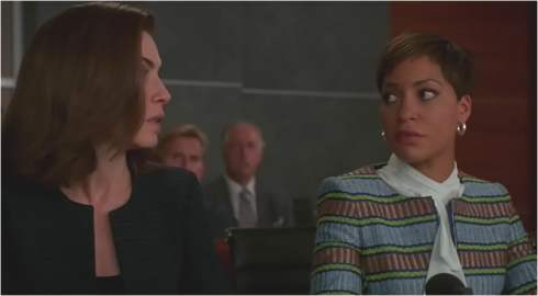 The Good Wife 7.02 Alicia and Lucca