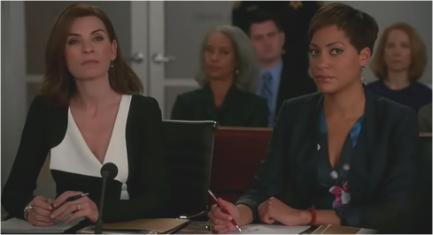 The Good Wife 7.02 Alicia and Quinn
