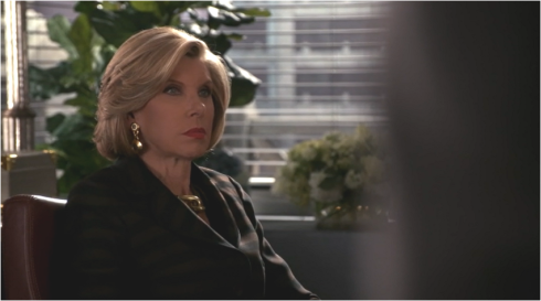 The Good Wife 7.03 Angry Diane