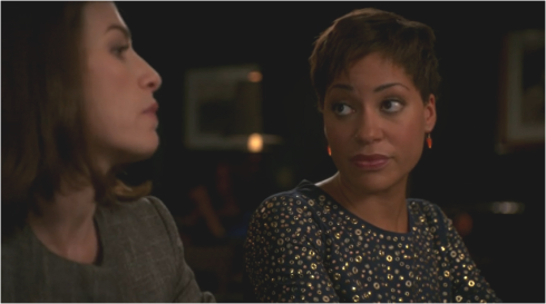The Good Wife 7.04 Alicia and Lucca