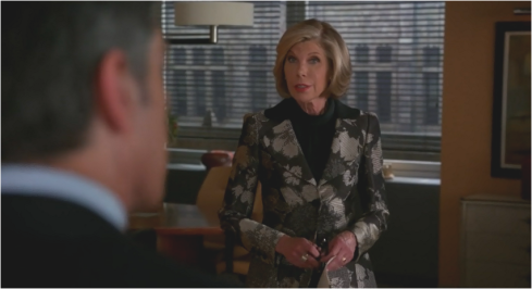 The Good Wife 7.04 Diane Lockhart