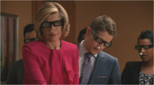 The Good Wife 7.05 Diane and Cary