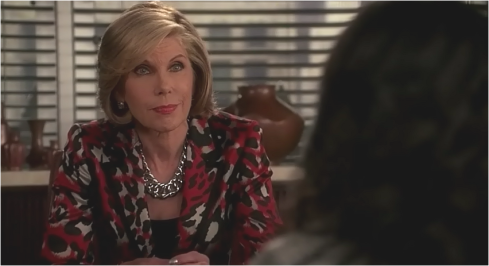 The Good Wife 7.06 Diane Chain Three