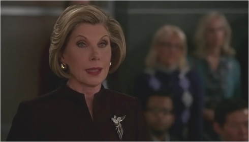 The Good Wife 7.08 Diane Lockhart