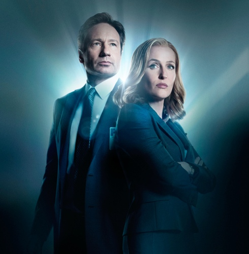 The X-Files Mulder and Scully