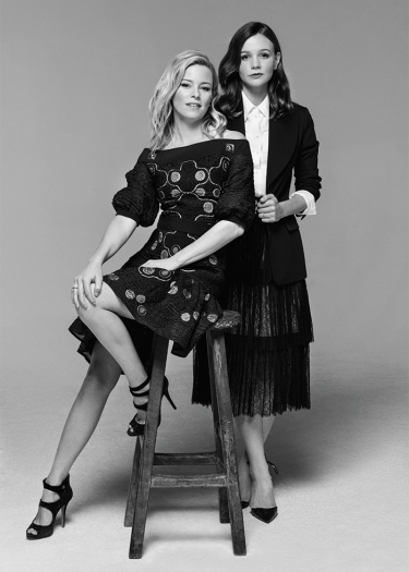 Elizabeth Banks and Carey Mulligan