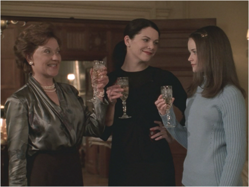Gilmore Girls 1.01 Gilmore ladies