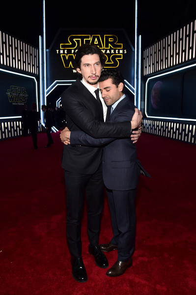 Oscar Isaac and Adam Driver