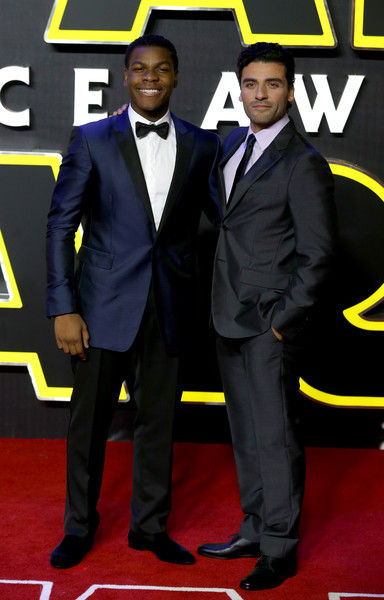 Oscar Isaac and John Boyega