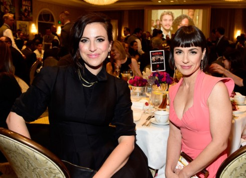 Constance Zimmer and Sarah Gertrude Shapiro