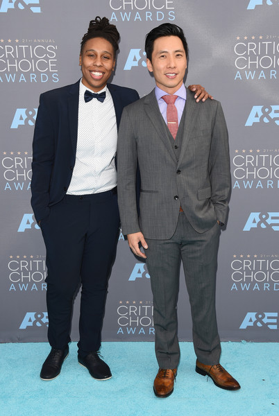 Lena Waithe and Kelvin Yu