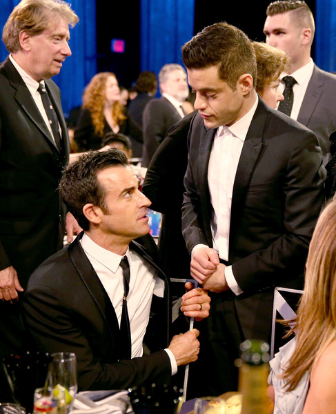 Rami Malek and Justin Theroux