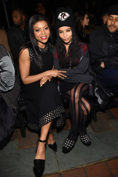 Taraji P. Henson and Zoe Kravitz