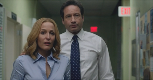 The X-Files 10.04 Mulder and Scully