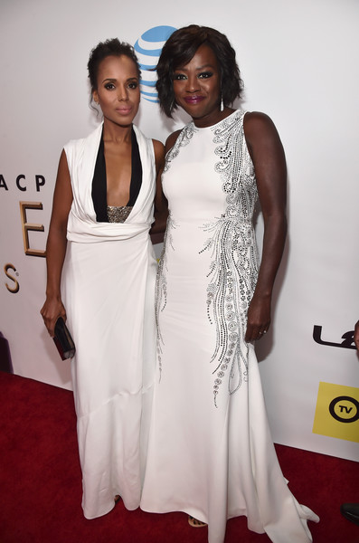 Viola Davis and Kerry Washington