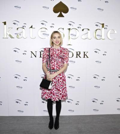 Zoe Kazan Kate Spade